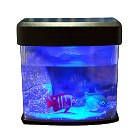 USB Mini Aquarium/Fish Tank with Colorful Light