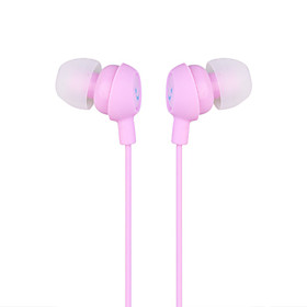 Smiley In-Ear Earphones (Pink)