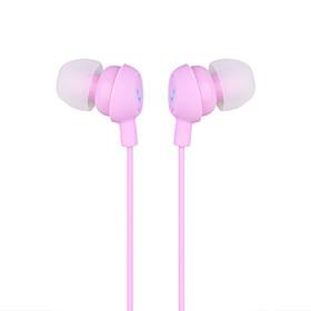 Smiley In-Ear Earphones (Pink)