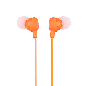 Smiley In-Ear Earphones (Orange)