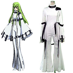 Code Geass C.C Cosplay Costume
