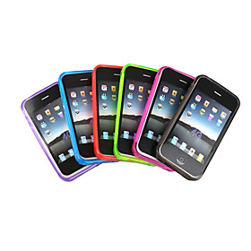 Transparent Silicon Case For Iphone 4G Package Sale (Pack Of 6pcs, Color Assorted)
