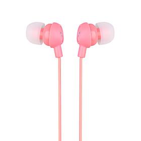 Smiley In-Ear Earphones (Peach Pink)