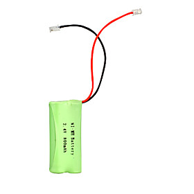 Universal Interface 2.4v 800mAh NI-MH battery for cordless phone(NI-MH(2.4v 800))