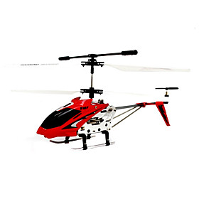 Syma S107 Red 3CH RC Helicopter RTF w/ Gyro (S107R)