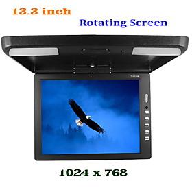 Roof Mounted 13.3 Inch TFT LCD Display Monitor PAL-NTSC