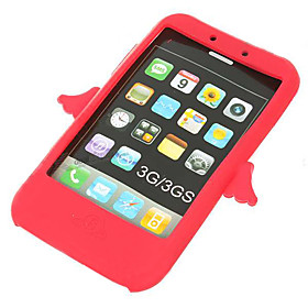 Angel Style Silicone Case for iPhone 3G