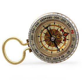 Vintage Compass with Keychain