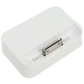 Charging Sync Cradle Dock for Apple iPhone 4 (White)