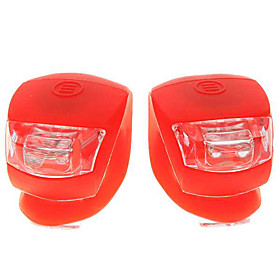 2-LED 3-Mode Fog Bicycle Light - Red (Pair/2 CR2032)