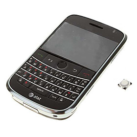 Full Housing Case with Trackball  Buttons  Outer Screen  Keyboard for BlackBerry 9000