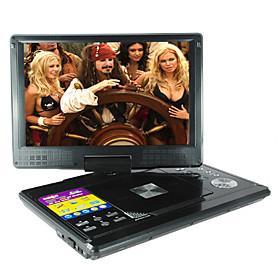 multimedia portátil reproductor de DVD con pantalla ancha de 12