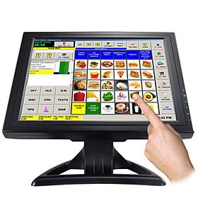 Pantalla táctil de 15 pulgadas el monitor LCD con resolución