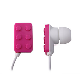 Stylish Noise Cancelling Earbud - Pink