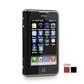 6000 Dual Card Dual Screen TV WIFI QWERTY 3.6 Inch Touch Screen Cell Phone(2GB TF Card)(SZ09890071)