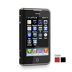6000 Dual Card Dual Screen TV WIFI QWERTY 3.6 Inch Touch Screen Cell Phone(2GB TF Card)(SZ09890071)