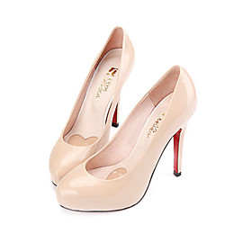 Patent Leather Upper Stiletto Heel Closed Toe Party/ Evening Shoes
