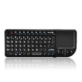 2.4G Wireless Mini Keyboard with Touchpad and Laser Pointer