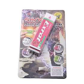 Electric Shock Chewing Gum Prank Joke Gag Trick Party(Pink)