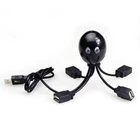 Octopus Paul 4 Port USB 2.0 Hub (Multi-Colors)