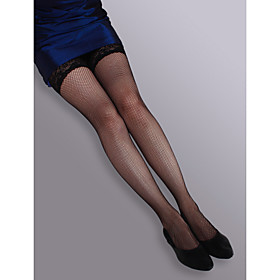Nylon Fishnet Tights Hold Ups Stockings