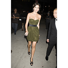 Camilla Belle Sheath/ Column Sweetheart Short/ Mini Chiffon Cocktail Dress (FSM04408)