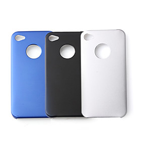 Aluminum Protective Hard Case for iPhone 4 (3-Pack)