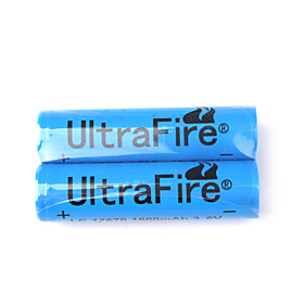 17670 3.6V 1800mAh LC17670 UltraFire Battery (2-Pack)