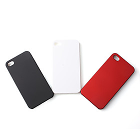 Polished Hard Plastic Case for iPhone 4 (3-Pack)