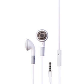 Stereo Earphones for iPhone (White)