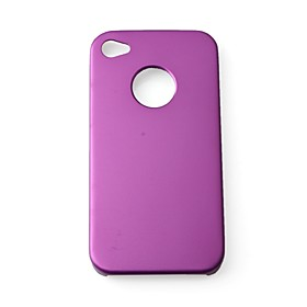 Aluminum Protective Hard Case for iPhone 4 (Assorted Colors)