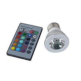 LED Color Changing Remote Control Light