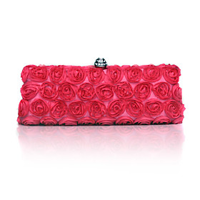 Gorgeous Satin With Austrian Rhinestone Evening Handbags/ Clutches More Colors Available