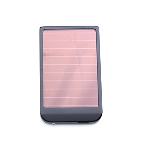 2600mAh Portable Solar Panel USB Charger for Cellphones/MP3/-Black