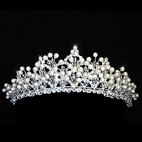 Beautiful Alloy With Rhinestones Wedding Bridal Tiara