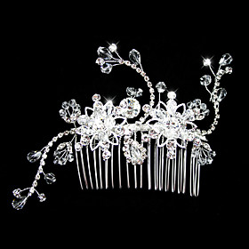Rhinestones Wedding Bridal Combs/ Headpiece
