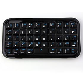 Mini Wireless Bluetooth Keyboard for iPad/iPhone (Black)