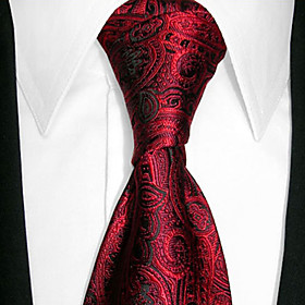 Corbata Color Vino