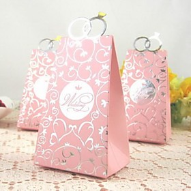 Wedding Ring Bag Shape Favor Box (set of 12)