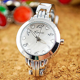 Kimio Japnese Quartz Movement Round Case Shape Crystals Women's Watch