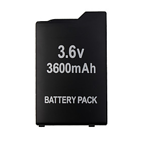 Rechargeable Battery Pack for Sony PSP 1000 (3600mAh)