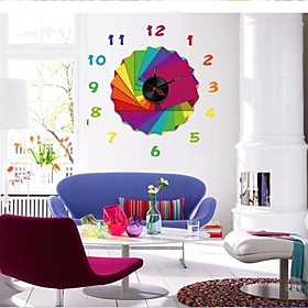DIY Wall Sticker Clock (0752-10A003)