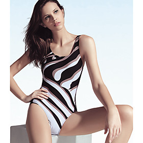 Polyester Maximum Lift One Pieces   Monokinis Swimwear