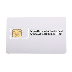 Sim Card Universal Activation for iPhone 4, 3GS, 3G, 2