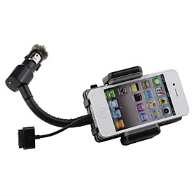 Hands-Free FM Transmitter   Charger Car Kit for iPhone