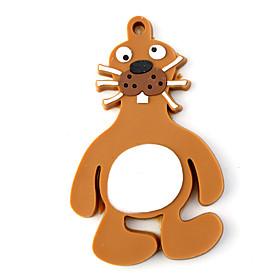 Fridge/Bookmark Magnet PVC Dog Brown FREE SHIPPING