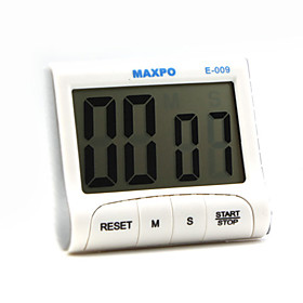 Electronic Pocket Memory Timer Count Up/Count Down