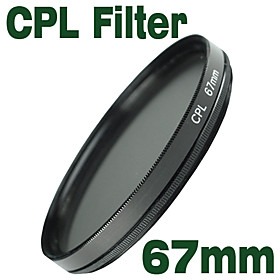 Emolux 67mm CPL Circular Polarizer Filter