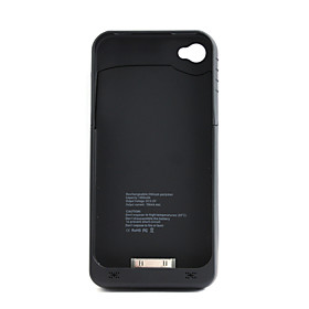 1900mAh External Backup Charger Battery Case For iPhone 4 (IBA010,1900mAh)
