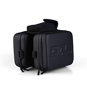 EVA Hard Shell Bike Pannier Top Tube Bag Attachable to Head Tube with Velcro